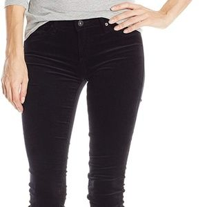 AG the Legging Skinny stretch velveteen size 25R